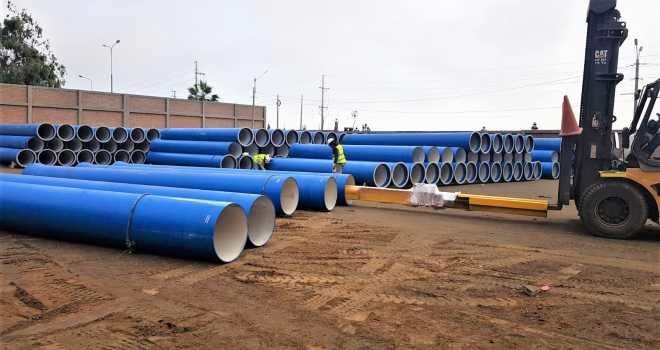 Sistema de Adução de Água e Tratamento de Esgoto Chorrillos - Peru