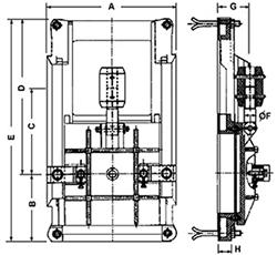 Desenho técnico Comporta  - 1