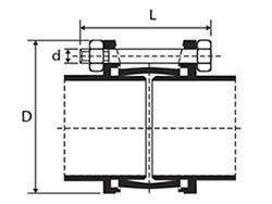 Desenho técnico Junta Gibault