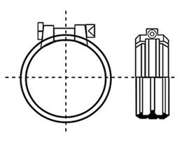 Desenho técnico Junta Rapid Inox 2