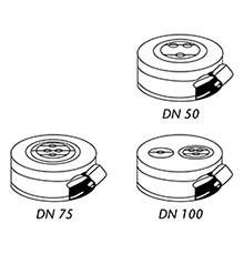 Desenho técnico Adaptador EPDM - 2