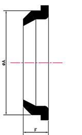 Desenho técnico Anel Tradicional