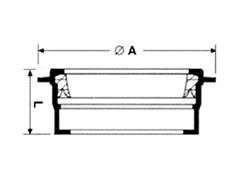 Desenho técnico Luva de selagem
