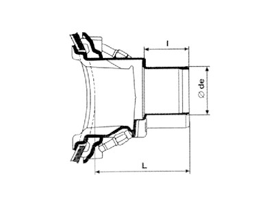 Desenho técnico Selim Simples
