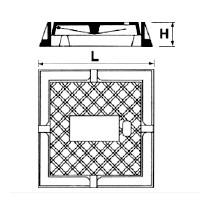 Desenho técnico Tampão para registro