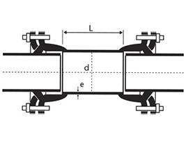 Desenho técnico Luva de Correr Integral