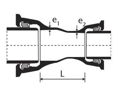 Desenho técnico Redução com Bolsas JTI
