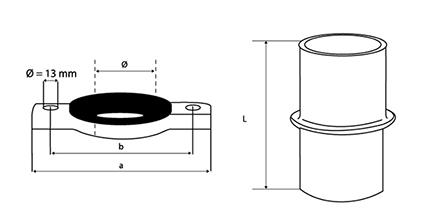 Desenho técnico Conjunto de Ancoragem 2