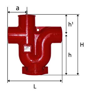 Desenho técnico Sifão 1